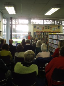 Full house at Northwich Lit fest